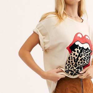 Rolling Stones cheetah tee